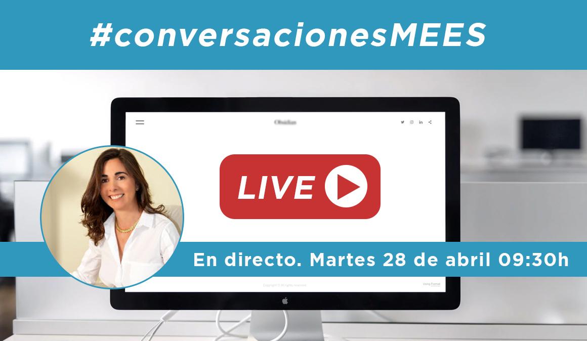 #conversacionesMEES en directo con Rita Gasalla este martes 28 de abril