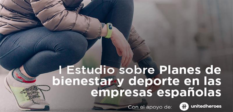 Te invitamos a participar en la elaboración del 'I Estudio sobre Planes de bienestar y deporte en las empresas españolas'.