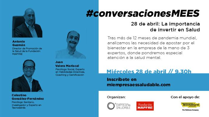 #conversacionesMEES en directo este 28 de abril