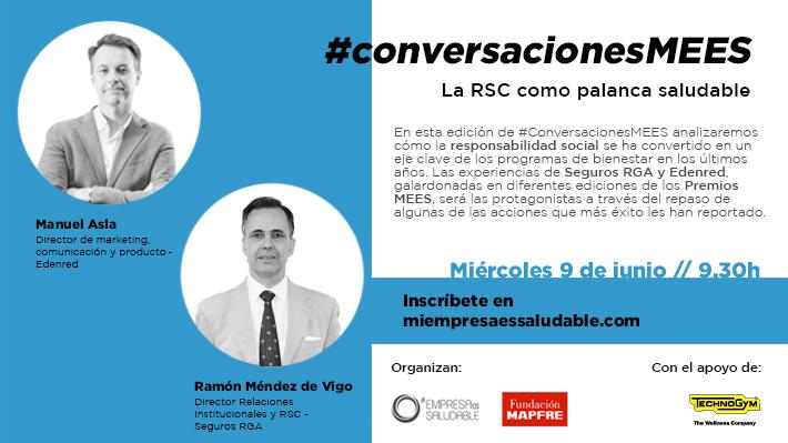 #ConversacionesMEES: La RSC como palanca saludable