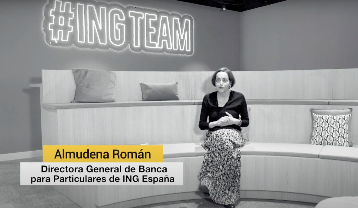 """Almudena Román (ING): """"Esa capacidad de empoderar al equipo para que cada uno se haga dueño de su bienestar es esencial"""""""