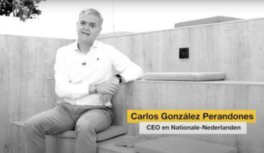 """Carlos González (Nationale-Nederlanden): """"El bienestar es sinónimo de cuidarse y estar bien física y emocionalmente"""""""