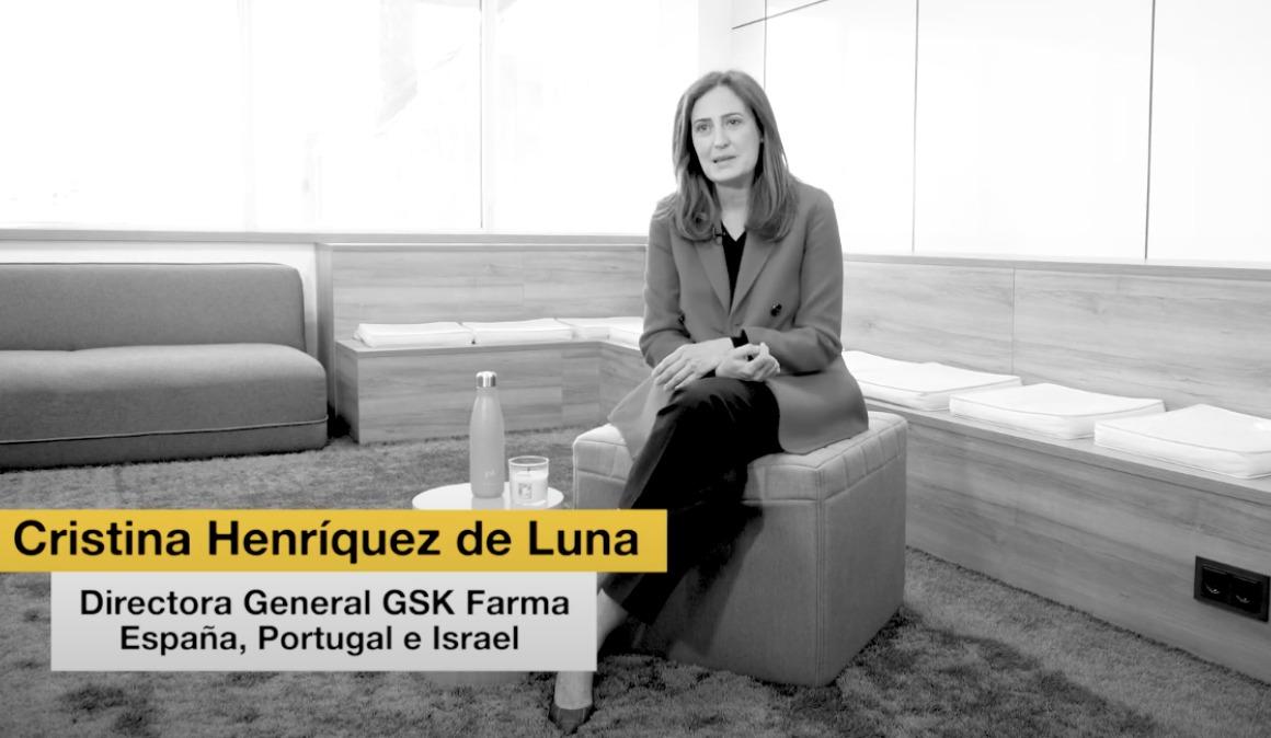 """Cristina Henríquez de Luna (GSK): """"Las compañías tienen que mostrar y demostrar un interés genuino por el bienestar del empleado"""""""