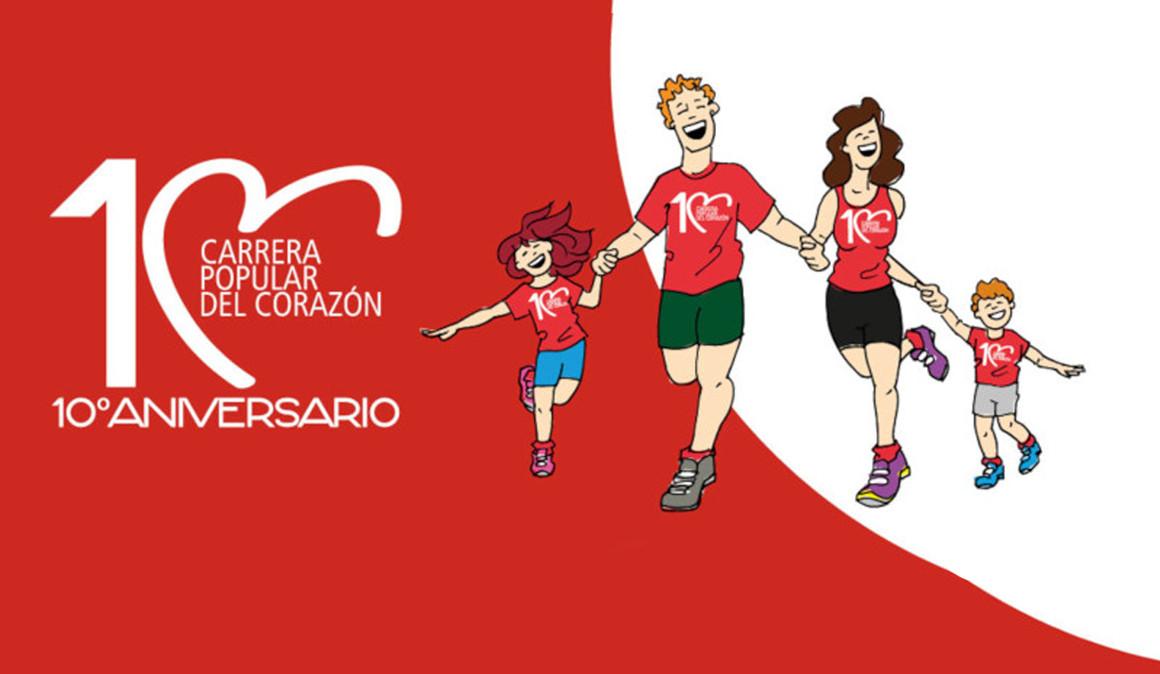 La Carrera Popular del Corazón prepara su décima edición