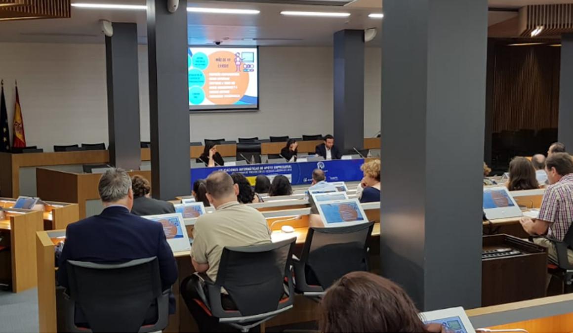 Septiembre trae nuevas jornadas sobre «Aplicaciones Informáticas de Apoyo Empresarial en materia de PRL»
