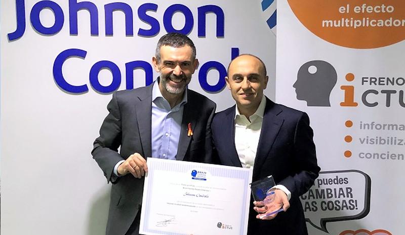 Johnson Controls, reconocido por la prevención del ictus en el entorno laboral