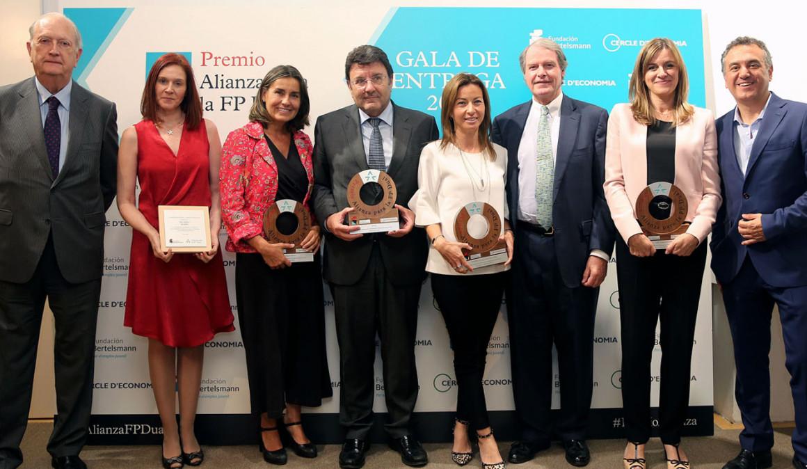 CTAIMA recibe el Premio alianza por la FP de Prevención de Riesgos Laborales