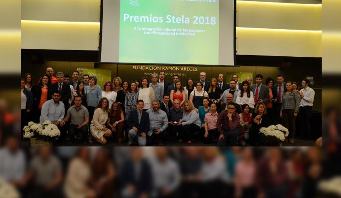 La Fundación Síndrome de Down de Madrid premia a más de 40 empresas por favorecer la integración laboral y social