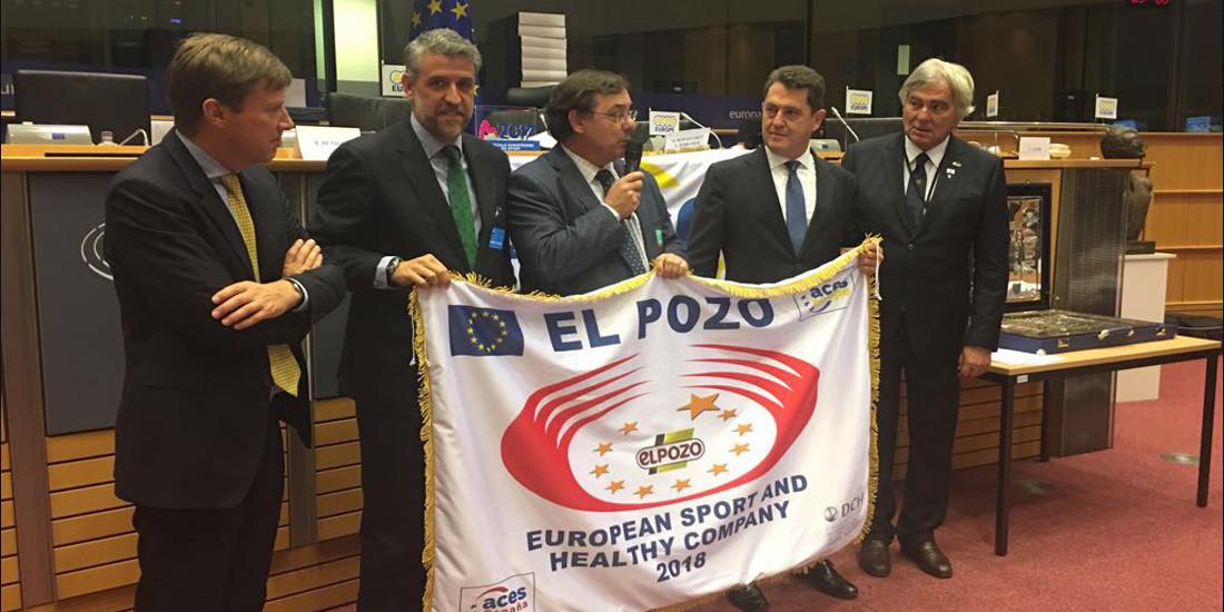 ElPozo, Empresa Europea del Deporte y la Salud 2018