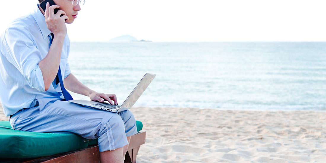 ¡Desconecta del trabajo en vacaciones!