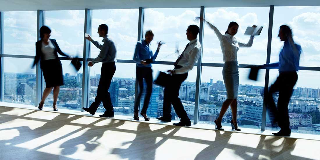 5 ejercicios cada hora de trabajo