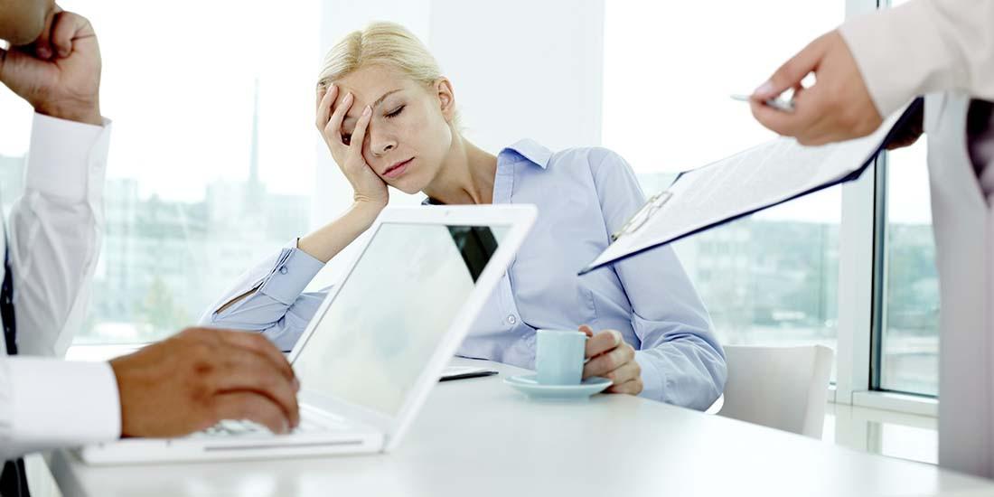 El estrés laboral como fuente de trastornos