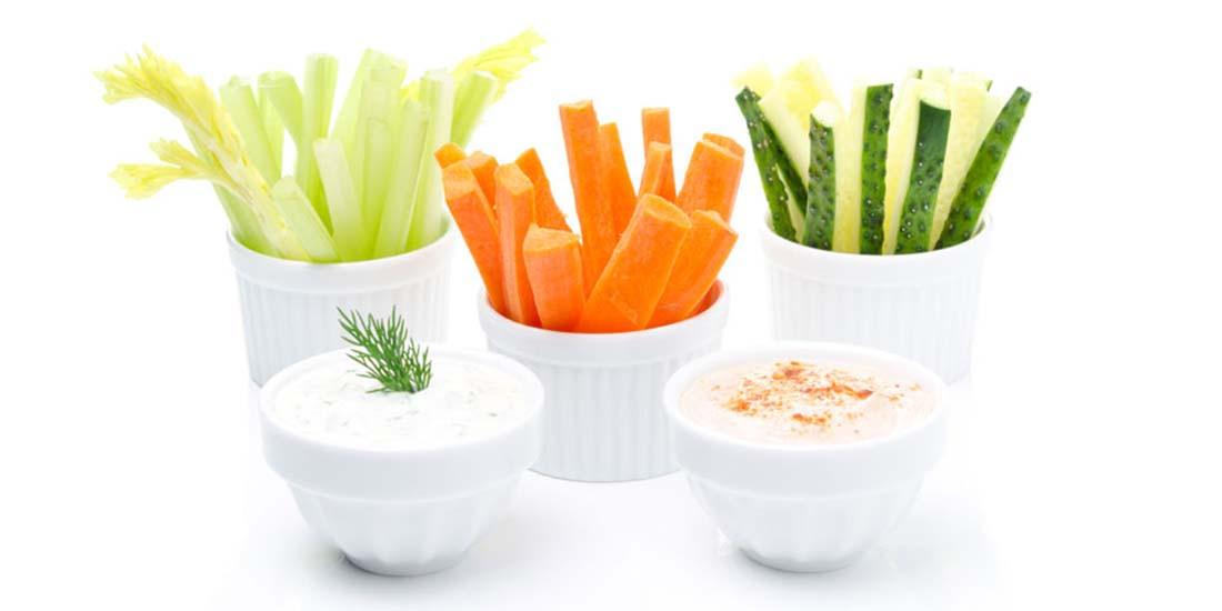 Hummus casero y saludable
