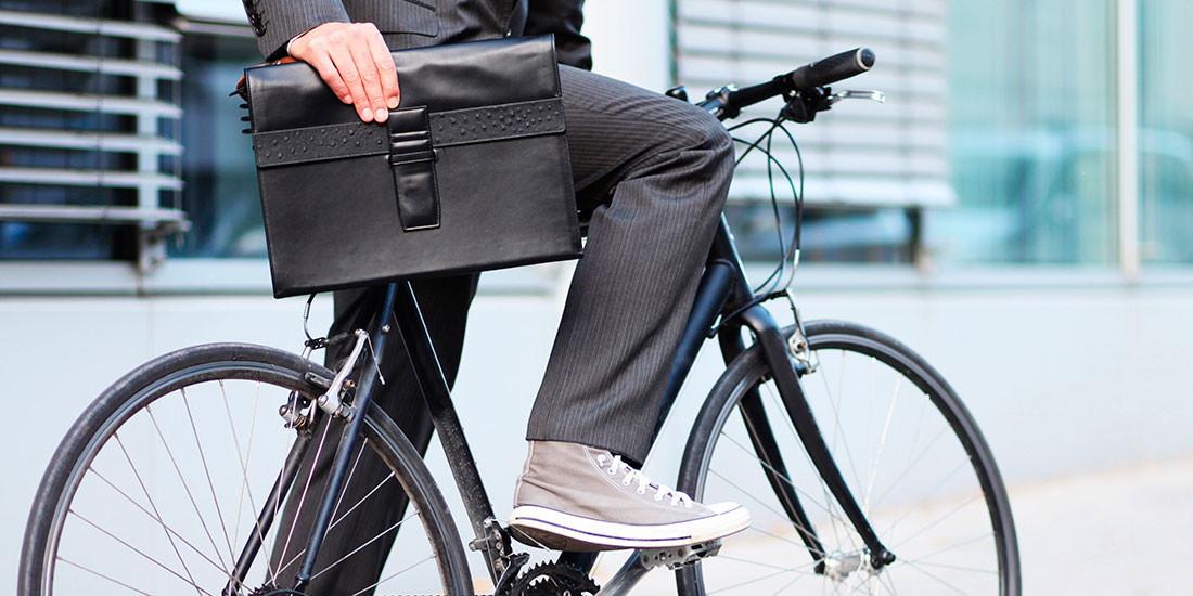 Llegar en bici al trabajo