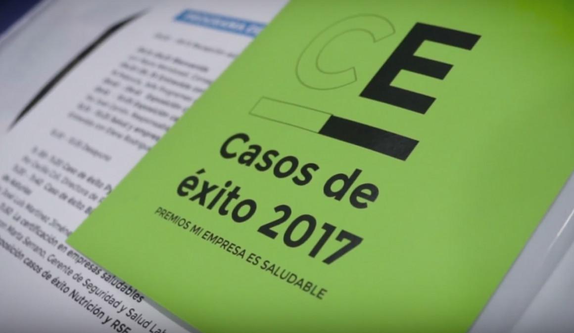Mi Empresa es Saludable presenta el libro de los casos de éxito de 2017