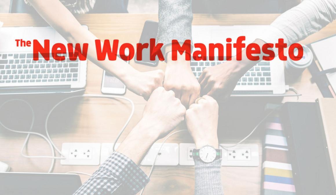 New Work Manifesto: Una nueva forma de entender el trabajo