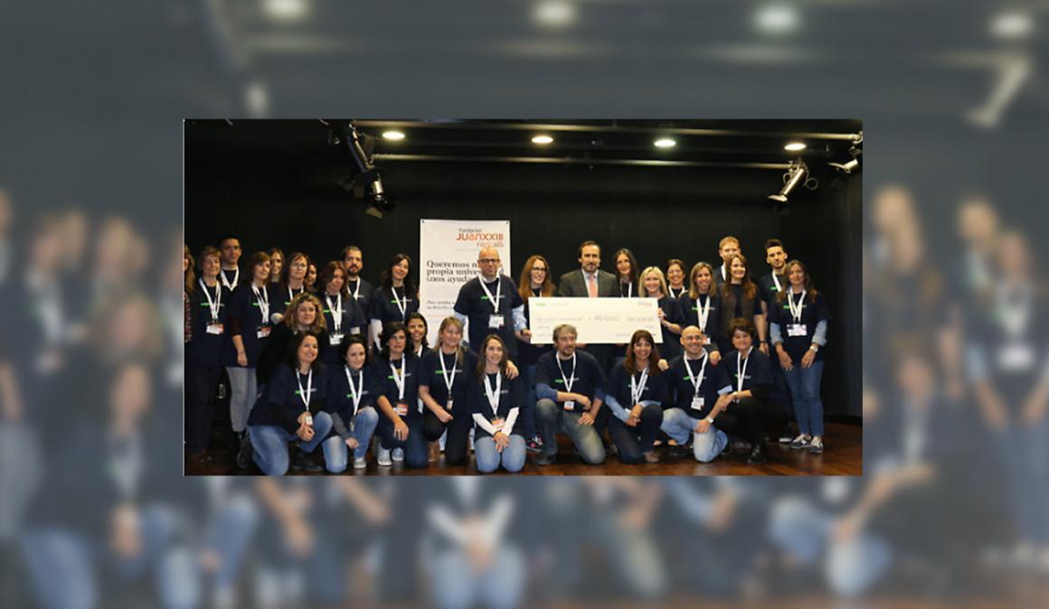 Sage y la Fundación Juan XXIII construirán el mayor centro de formación de jóvenes con discapacidad intelectual